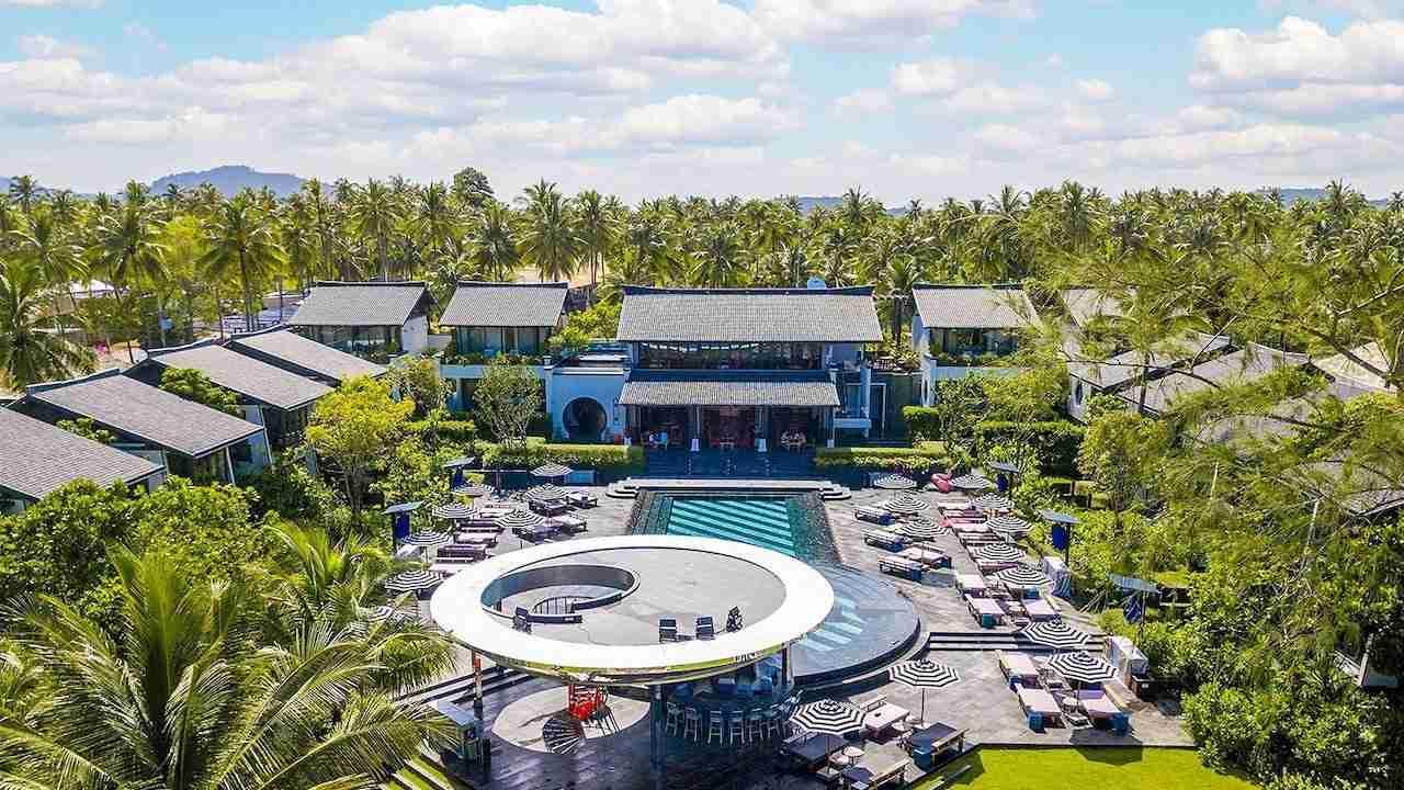 luxury beach club in Phuket Thailand