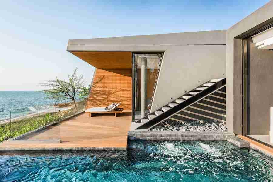 Beachfront Grand Villa at Mason Pattaya in Thailand