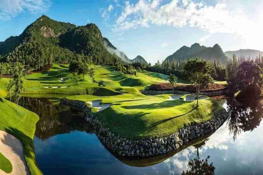 Black mountain golf club in Hua Hin Thailand