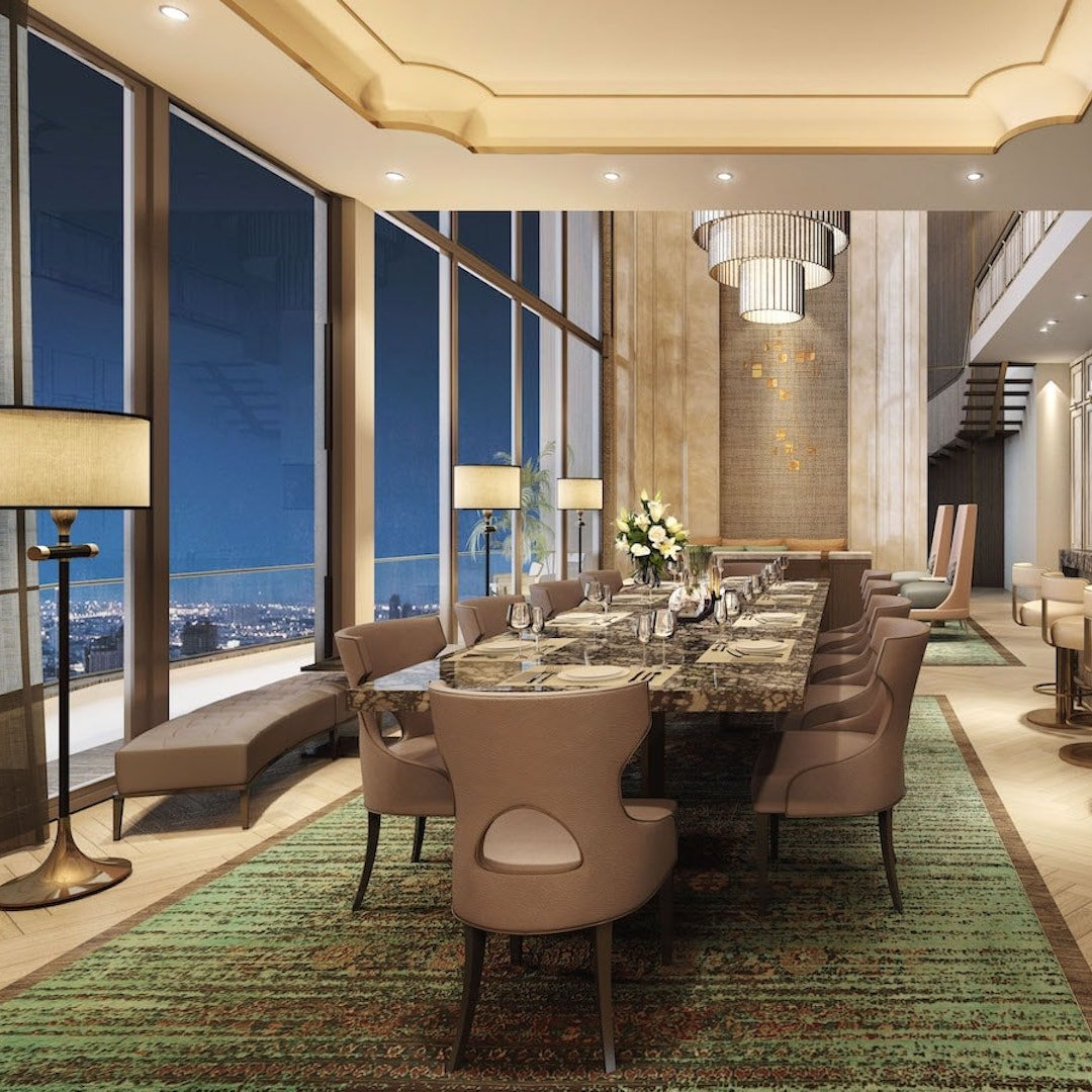 heritage penthouse suites in Thailand