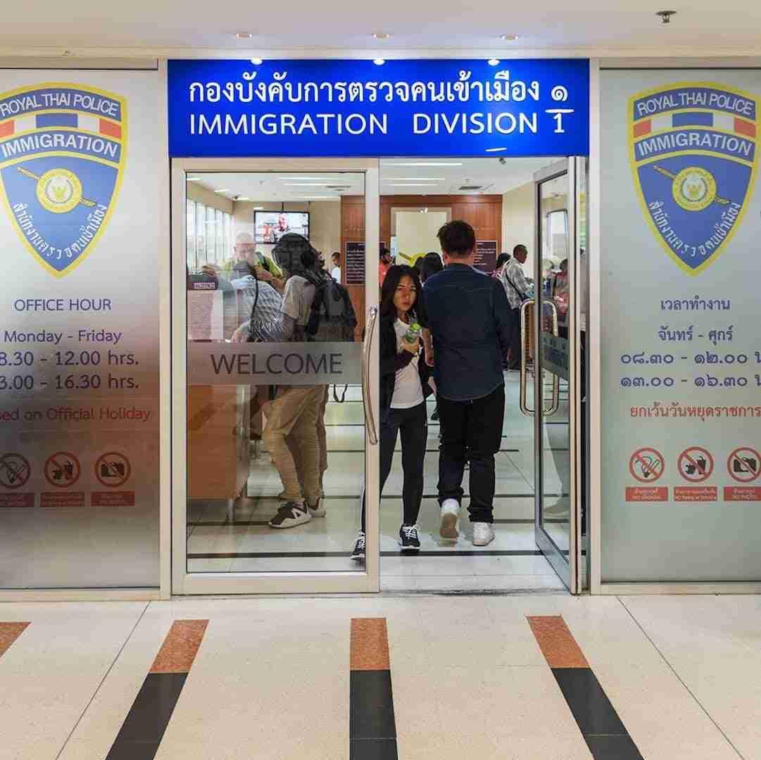 immigration bureau in Bangkok