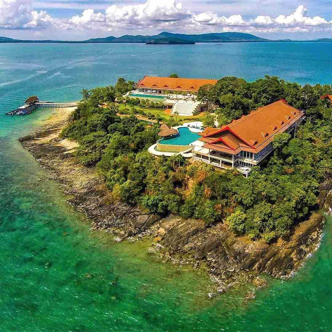 private island in Thailand