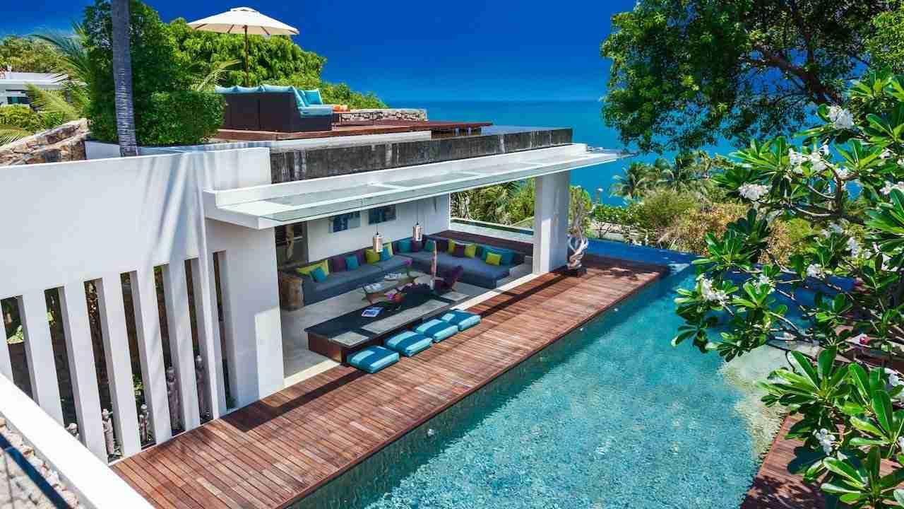luxury villa hin in Koh Samui Thailand