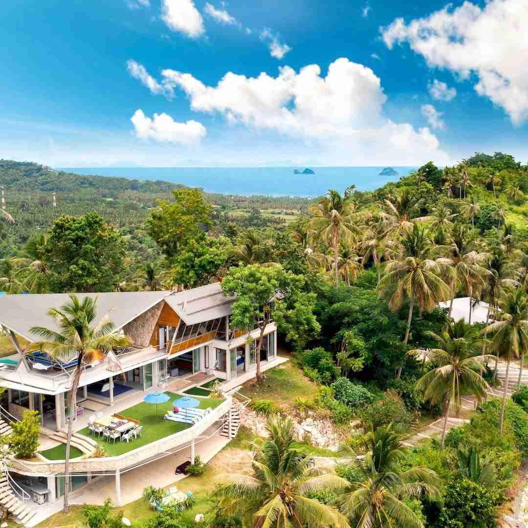 luxury villa in Koh Samui Thailand