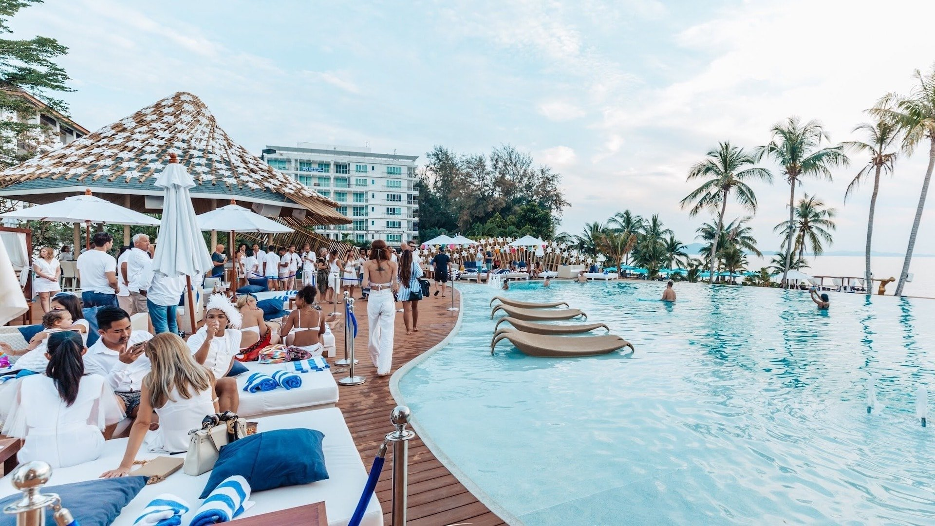pool party planner in Thailand