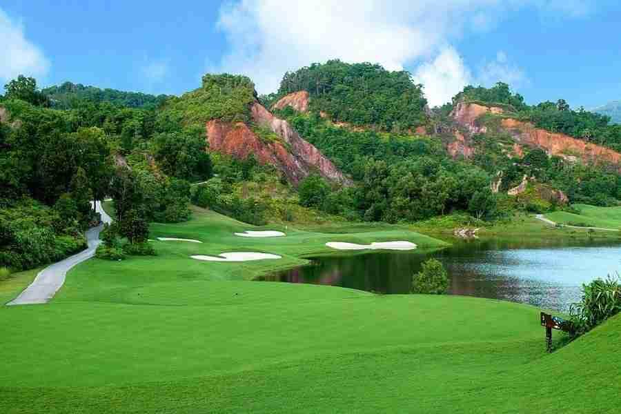 red mountain golf club in Phuket Thailand