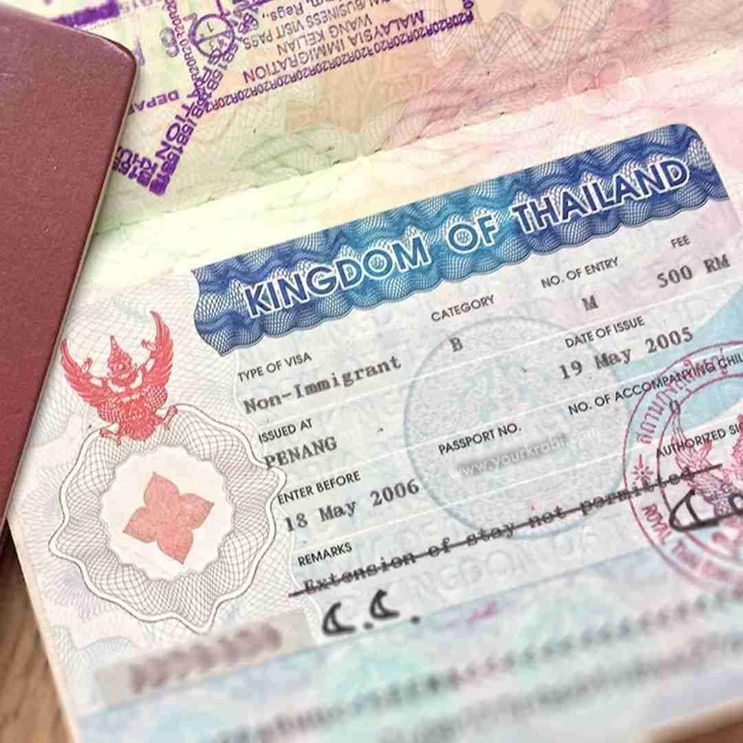 thai visa stamp