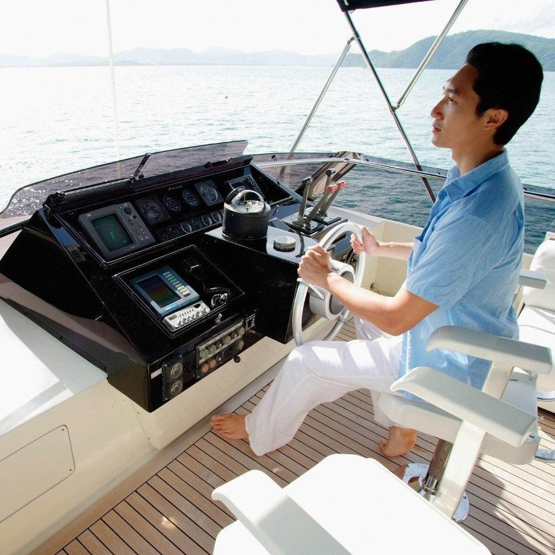 captain of a yacht in Thailand